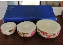 牡丹精品保鲜碗三件套